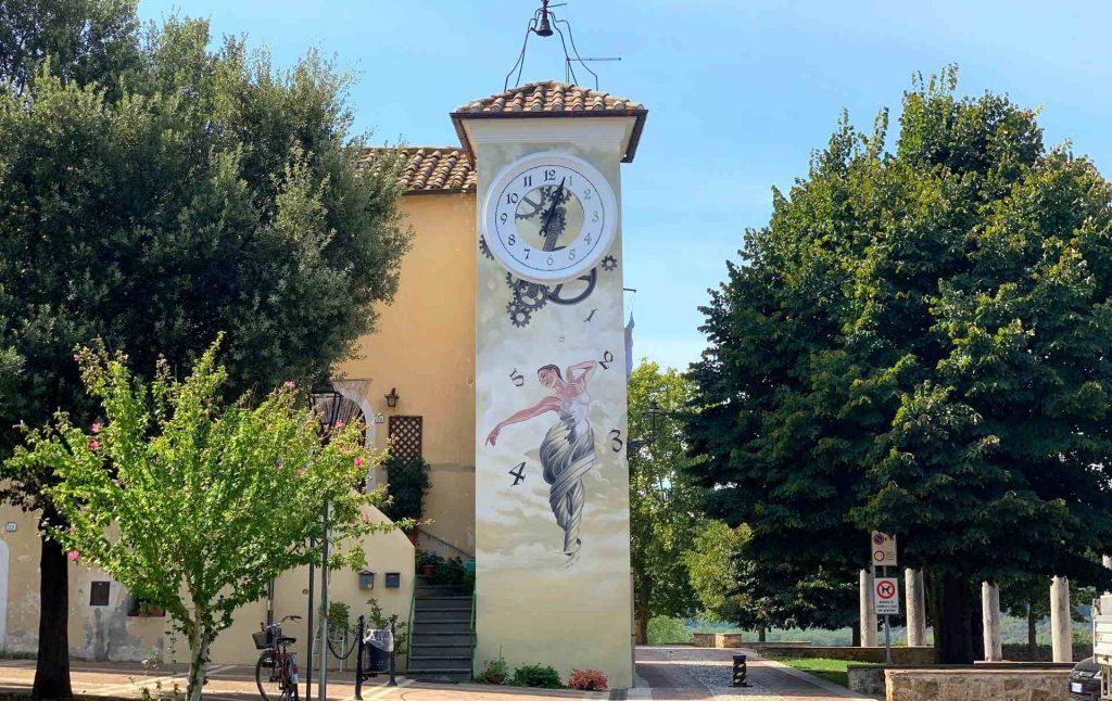 La Torre dell'Orologio ad Attigliano vecchio