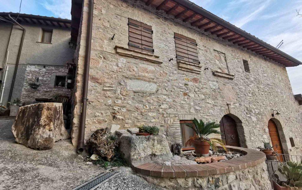 Il borgo di Coppe, frazione di Stroncone
