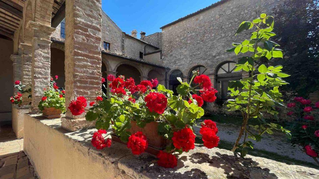 Giardino del Convento di San Francesco di Lugnano in Teverina